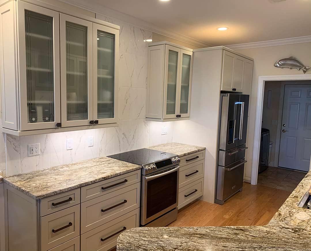 Bolivia NC Kitchen Cabinets Remodel