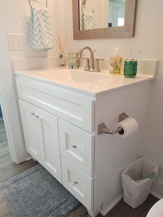 Cultured Marble Bath Countertops