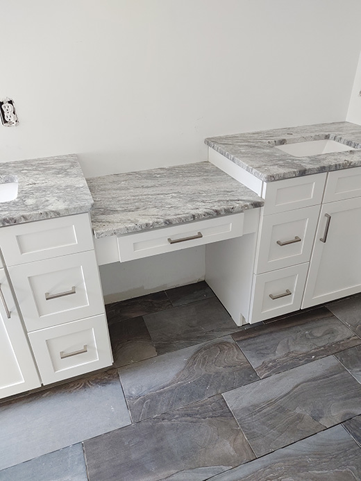 Master Bath Cabinets and Countertops