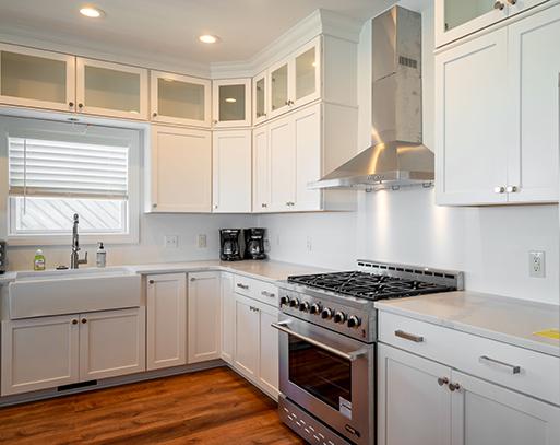Ocean Isle Beach NC White Kitchen