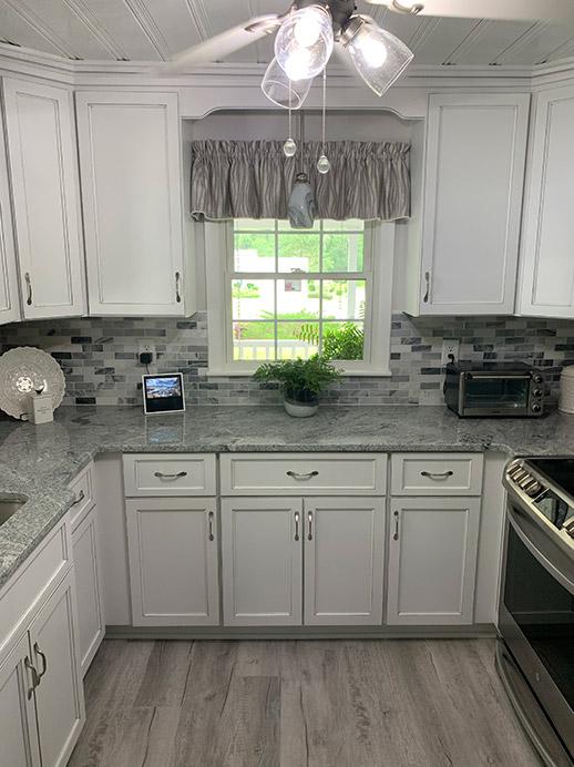 U-Shaped Kitchen Design for Shallotte Remodeling Project